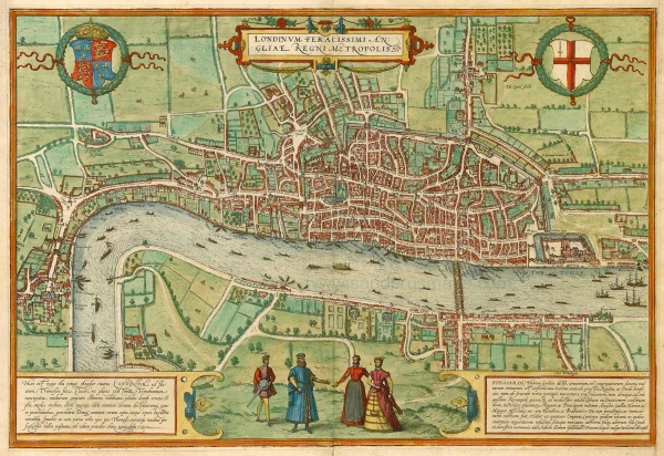 Antique_map_of_London_by_Braun_-_Hogenberg Wikimedia- CC smaller
